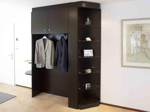 garderobenschrank die individuelle garderobe nach mass alpnach norm schrankelemente ag. Black Bedroom Furniture Sets. Home Design Ideas